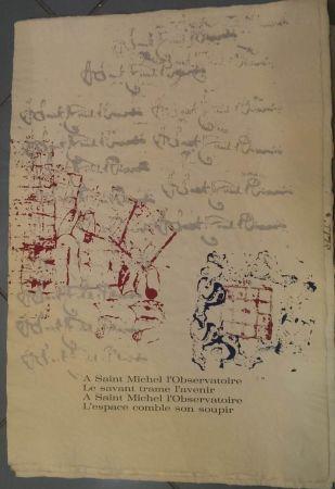 Lithograph Arman - RITOURNELLE pour SAINT MICHEL L'OBSERVATOIRE