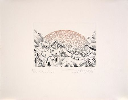 Etching Pierron - Rivages