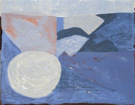 Lithograph Poliakoff - Rivière, 21