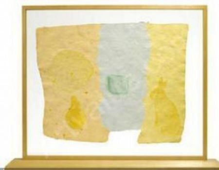 Screenprint Rauschenberg - Roan, from Pages and Fuses