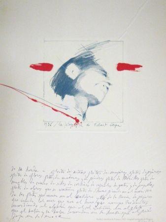 Lithograph Bru - Robert Capa