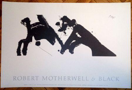 Poster Motherwell - Robert Motherwell & Black