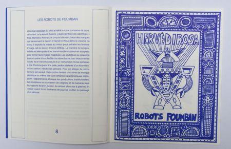 Illustrated Book Di Rosa - Robots Foumban