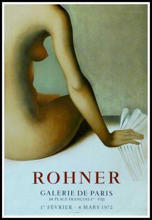 Poster Rohner - ROHNER - GALERIE DE PARIS