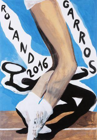 Offset Desgrandchamps - Roland Garros