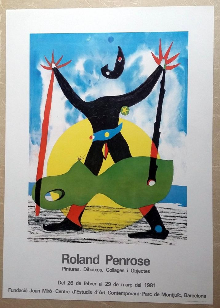 Poster Penrose - Roland Penrose - Pintures, dibuixos, Collages i objectes