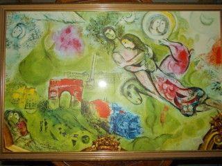 Lithograph Chagall - Roméo et Juliette
