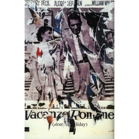 Poster Rotella - Roman Holiday (Original title: Vacanze Romane)