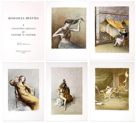Lithograph Olivier O - Romances Muettes