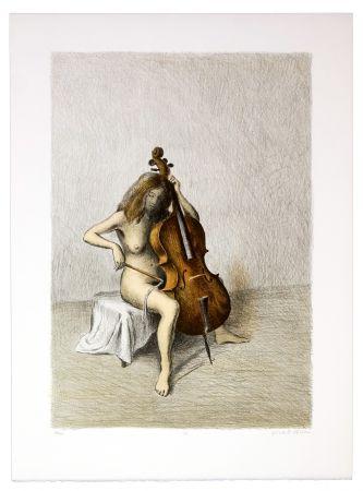 Lithograph Olivier O - Romances Muettes (Chanson bègues)