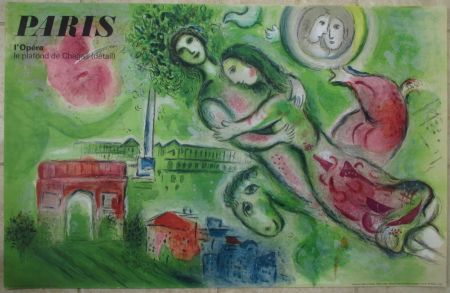 Lithograph Chagall - Romeo et Juliette
