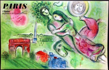 Poster Chagall - Romeo et Juliette – Opera Paris
