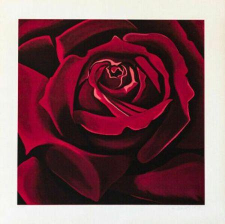 Screenprint Nesbitt - Rose