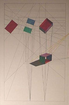 Lithograph Davis - Rotation- Tilt