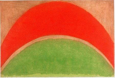 Engraving Piza - Rouge-vert