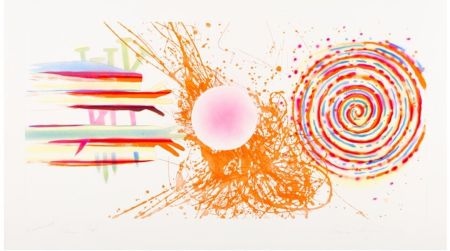 Etching And Aquatint Rosenquist - Rouge Pad