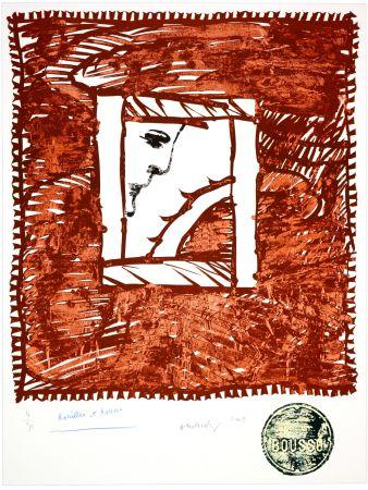 Lithograph Alechinsky - Rouilles et Ronces