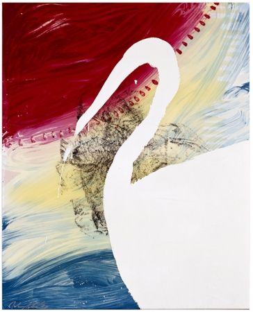 Screenprint Schnabel - Roy