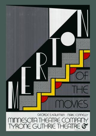 Screenprint Lichtenstein - Roy Lichtenstein 'Merton Of The Movies' 1968 Original Pop Art Poster with COA