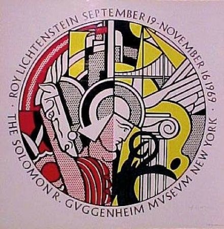 Screenprint Lichtenstein - Roy Lichtenstein, Sept. 19-Nov. 16, 1969, The Solomon R. Guggenheim Museum, New York
