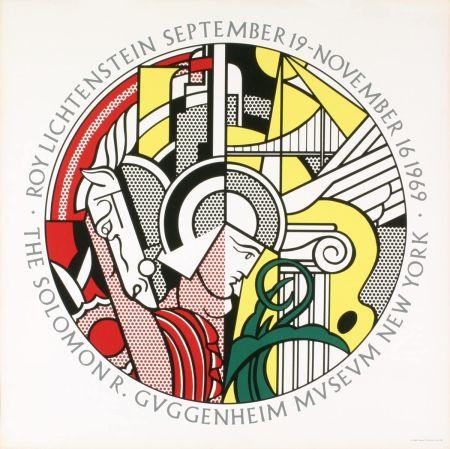 Screenprint Lichtenstein - Roy Lichtenstein 'Solomon R. Guggenheim Museum' 1969 Original Poster