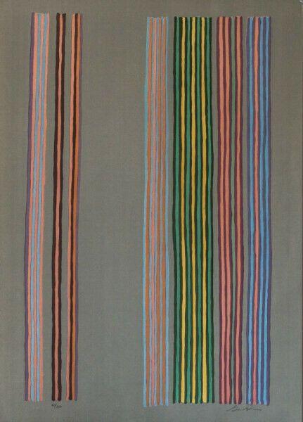 Screenprint Davis - Royal Curtain