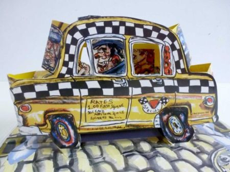Lithograph Grooms - Ruckus Taxi (Mini)