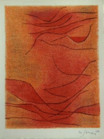 Lithograph Singier - Rythme
