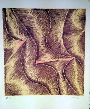 Lithograph Survage - Rythmes colorés