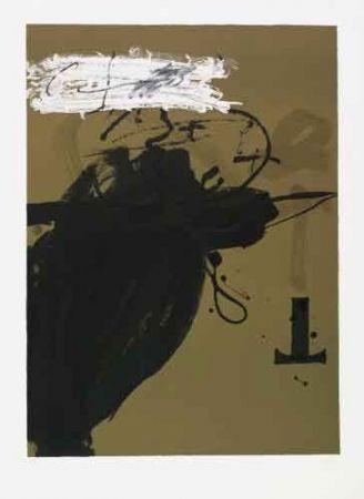 Lithograph Tàpies - Sénanque II