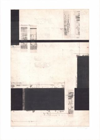Lithograph Brinkmann - Série Barcelone V