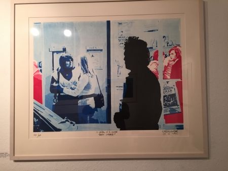 Screenprint Fromanger - Série: Le peintre et le modèle