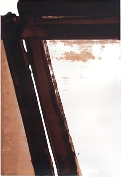 Screenprint Soulages - Sérigraphie 15