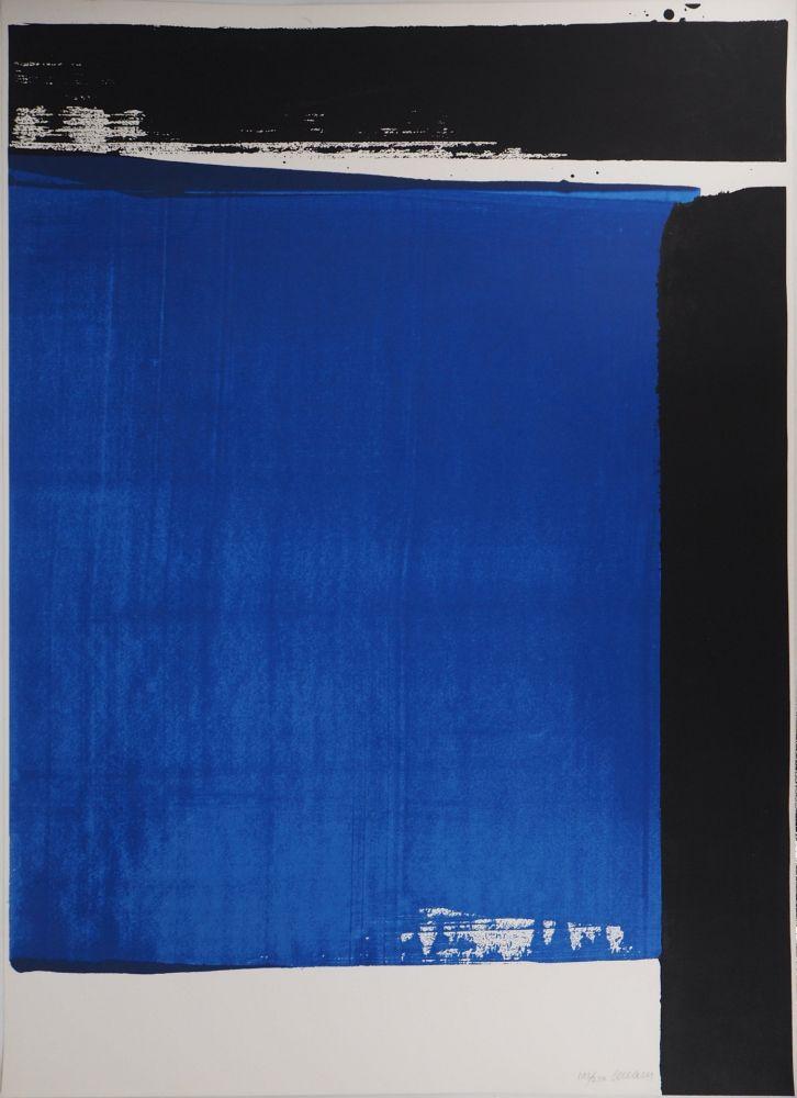 Screenprint Soulages - Sérigraphie n°16