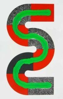 Lithograph Sugai - S-Octobre