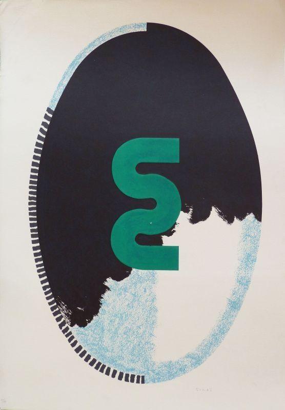 Lithograph Sugai - S (miroir)