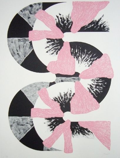 Lithograph Sugai - S (Rose)