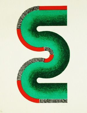 Lithograph Sugai - S vert