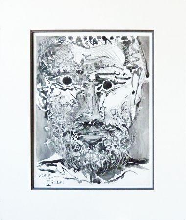 Aquatint Picasso - Sable Mouvant