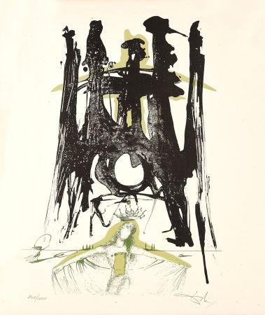 Lithograph Dali - Sagrada Familia