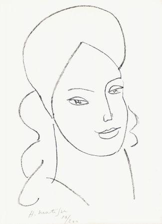 Lithograph Matisse - Saint Catherine, 1946