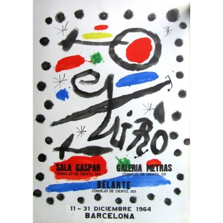 Poster Miró - Sala Gaspar - Metras - Belarte