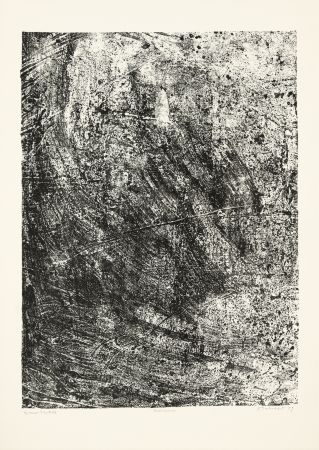 Lithograph Dubuffet - Salissures
