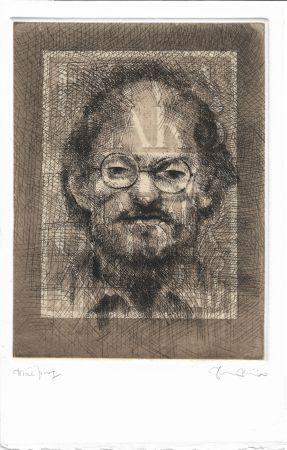 Etching And Aquatint Phillips - Salman Rushdie