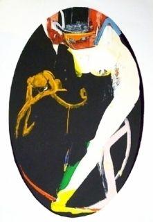 Lithograph Pomar - Salomé