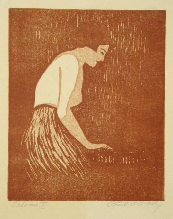 Linocut Rotky - Salome
