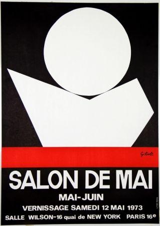 Lithograph Gilioli - Salon de Mai