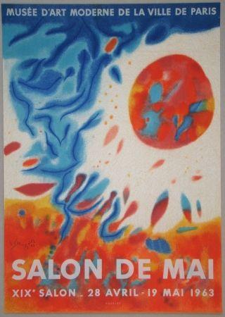 Lithograph Singier - Salon De Mai