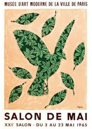 Poster Magritte - Salon de mai 1965
