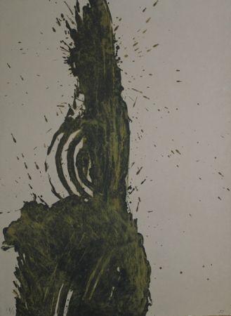 Lithograph Brown - Salt roma II